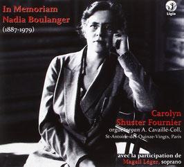 Nadia Boulanger: In Memoriam Nadia Boulanger (Ligia Digital)