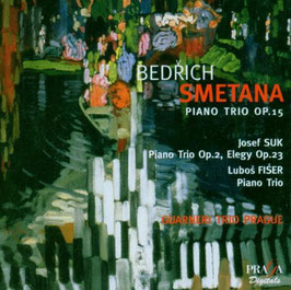 Bedrich Smetana: Piano Trio op. 15, Josef Suk: Piano Trio op. 2, Elegy op. 23 (SACD, Praga)