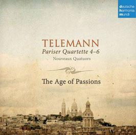 Georg Philipp Telemann: Parisian Quartets 4-6, Nouveaux Quatuors (Deutsche Harmonia Mundi)