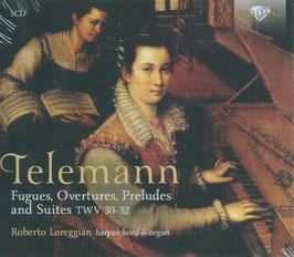Georg Philipp Telemann: Fugues, Overtures, Preludes and Suites TWV 30-32 (5CD, Brilliant)