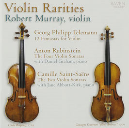 Violin Rarities: Telemann, Rubinstein, Saint-Saëns (4CD, Raven)