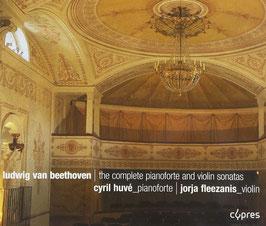 Ludwig van Beethoven: The complete pianoforte and violin sonatas (3CD, Cypres)