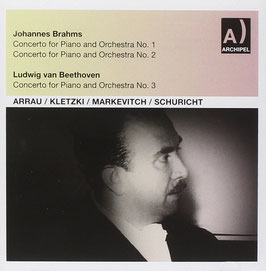 Johannes Brahms: Concerto for Piano and Orchestra No. 1 & 2, Beethoven: Concerto for Piano and Orchestra No. 3 (2CD, Archipel)