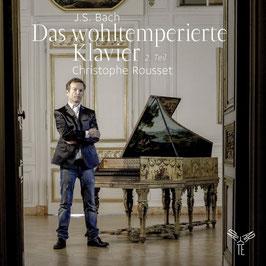 Johann Sebastian Bach: Das Wohltemperierte Klavier 2. Teil (2CD, Aparté)