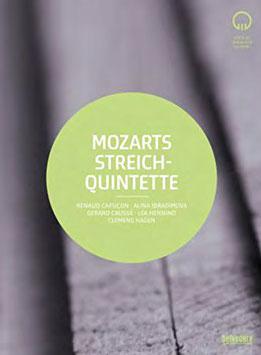 Wolfgang Amadeus Mozart: Streichquintette (2DVD, Belvedère)