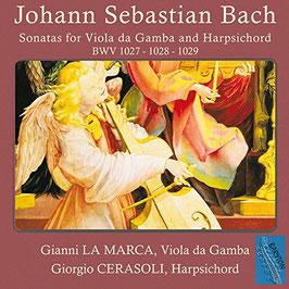 Johann Sebastian Bach: Sonatas for Viola da Gamba and Harpsichord BWV 1027 - 1028 - 1029 (Baryton)