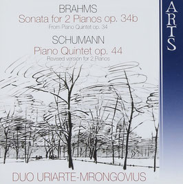 Johannes Brahms: Sonata for 2 Pianos op. 34b (from Piano Quintet op. 34), Schumann: Piano Quintet op. 44 (Revised version for 2 Pianos) (Arts)