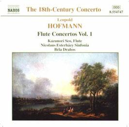 Leopold Hofman: Flute Concertos vol. 1 (Naxos)