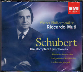 Franz Schubert: The Complete Symphonies (4CD, EMI)