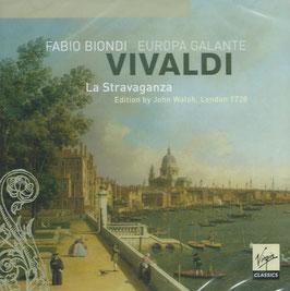 Antonio Vivaldi: La Stravaganza, Edition by John Walsh, London 1728 (Virgin Classics)