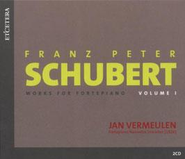 Franz Schubert: Works for Fortepiano, Volume 1 (2CD, Etcetera)