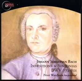 Johann Sebastian Bach: Inventions & Sinfonias BWV 772-801 (Musica Omnia)