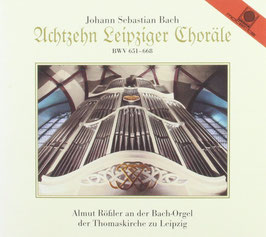 Johann Sebastian Bach: Achtzehn Leipziger Choräle BWV 651-668 (2CD, Motette)