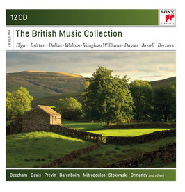 The British Music Collection: Elgar, Britten, Delius, Walton, Vaughan Williams, Davies, Arnell, Berners (12CD, Sony)