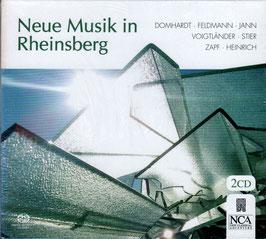 Neue Musik in Rheinsberg: Domhardt, Feldmann, Jann, Voigtländer, Stier, Zapf, Heinrich (2SACD, NCA)