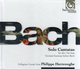 Johann Sebastian Bach: Solo Cantatas for alto / for bass, German Cantatas before Bach (3CD, Harmonia Mundi)