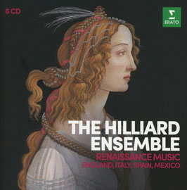 Renaissance Music from England, Italy, Spain and Mexico (6CD, Erato)