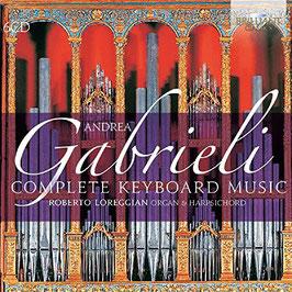 Andrea Gabrieli: Complete Keyboard Music (6CD, Brilliant)