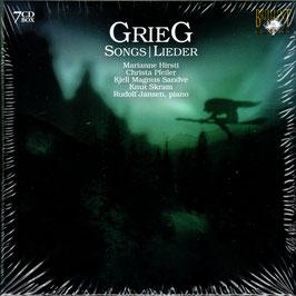 Edvard Grieg: Songs (7CD, Brilliant)
