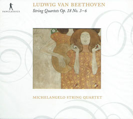 Ludwig van Beethoven, Wolfgang Amadeus Mozart: String Quartets op. 18 No. 3-6 (2CD, Pan Classics)