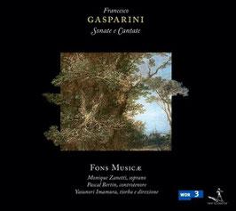 Francesco Gasparini: Sonate e cantate (Pan Classics)