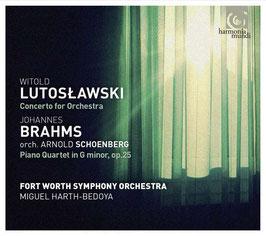 Witold Lutoslawski: Concerto for Orhestra, Johannes Brahms, orch. Arnold Schoenberg: Piano Quartet in G minor, op. 25 (SACD, Harmonia Mundi)