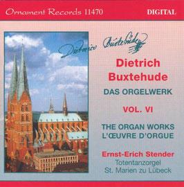 Dieterich Buxtehude: Das Orgelwerk Vol VI (Ornament Records)