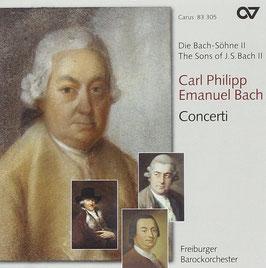 Carl Philipp Emanuel Bach: Concerti (Carus)