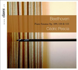 Ludwig van Beethoven: Piano Sonatas Op. 109, 110 & 111 (Claves)