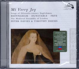 Mi verry Joy, Songs of fifteenth-century Englishmen Bedyngham, Dunstable, Frye (L'Oiseau-Lyre)
