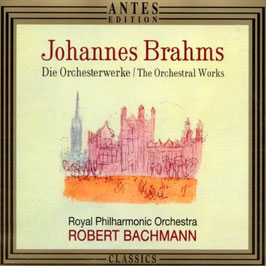 Johannes Brahms: The Orchestral Works (4CD, Antes)