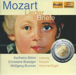 Wolfgang Amadeus Mozart: Lieder & Briefe (Profil)
