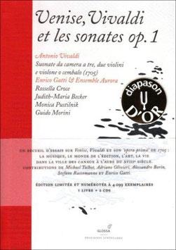 Antonio Vivaldi: Venise, Vivaldi et les sonates op. 1 (2CD, Boek, Glossa)