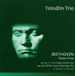 Ludwig van Beethoven: Piano Trios, Geister-Trio & Erzherzogs-Trio on period instruments (Etcetera)