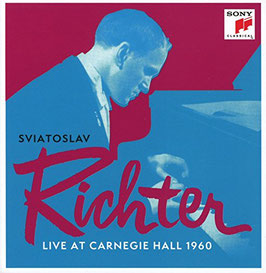 Sviatoslav Richter, Live at Carnegie Hall 1960 (13CD, Sony)