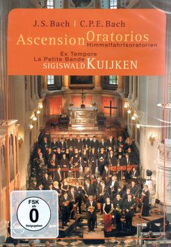 Johann Sebastian Bach: Ascension Oratorios (DVD, Euroarts)