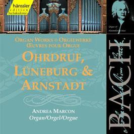 Johann Sebastian Bach: Ohrdruf, Lüneburg & Arnstadt (2CD, Hänssler)