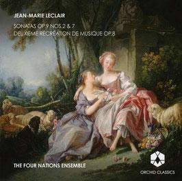 Jean Marie Leclair: Sonatas Op. 9 Nos. 2 & 7, Deuxieme Récréation de Musique Op. 8 (Orchid Classics)
