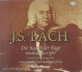 Johann Sebastian Bach: Die Kunst der Fuge, Musikalsiches Opfer, Canonische Veranderungen über Vom Himmel hoch (3CD, CD-rom, Brilliant)