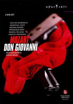 Wolfgang Amadeus Mozart: Don Giovanni (2DVD, Opus Arte)