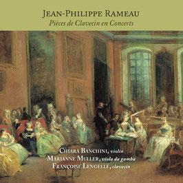 Jean-Philippe Rameau: Pièces de Clavecin en Concerts (Flora)
