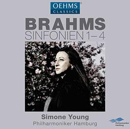 Johannes Brahms: Sinfonien 1-4 (3CD, Oehms)