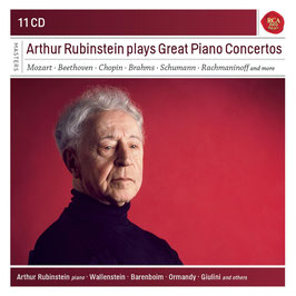 Arthur Rubinstein plays Great Piano Concertos (11CD, RCA)