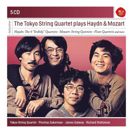 Joseph Haydn, Wolfgang Amadeus Mozart: The Tokyo String Quartet plays Haydn & Mozart (5CD, RCA)