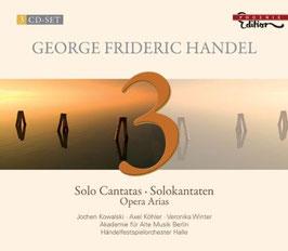 Georg Friedrich Händel: Solo Cantatas, Opera Arias (3CD, Phoenix)