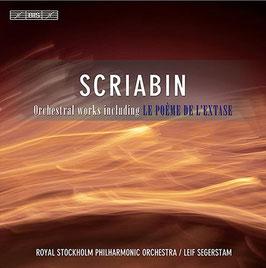 Alexander Scriabin: Orchestral works including Le poème de l'extase (3CD, BIS)