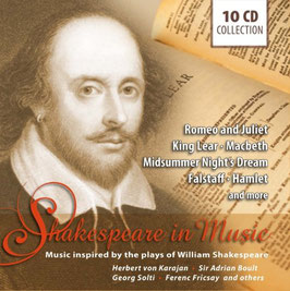 Shakespeare in Music (10CD, Documents)