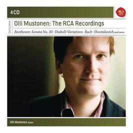 Olli Mustonen, The RCA Recordings: Beethoven, Bach, Shostakovich (4CD, RCA)
