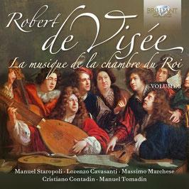 Robert de Visée: La musique de la chambre du Roi, volume 3 (2CD, Brilliant)