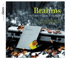 Johannes Brahms: The Two Viola Sonatas, 6 Lieder arranged for Viola and Piano (Claves)